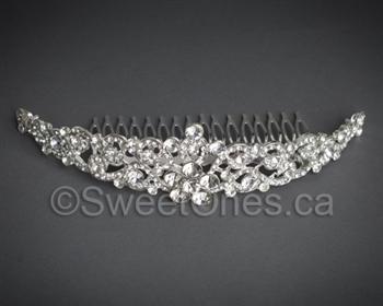 pearl rhinestone headband