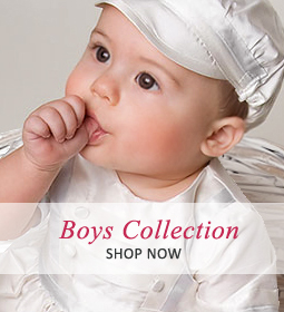 Boys and Girls Baptism Outfits - Christening Gowns Canada