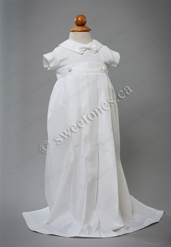 Boy Christening outfit, boy silk Christening gowns ...