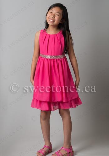 Fuchsia Party Dress