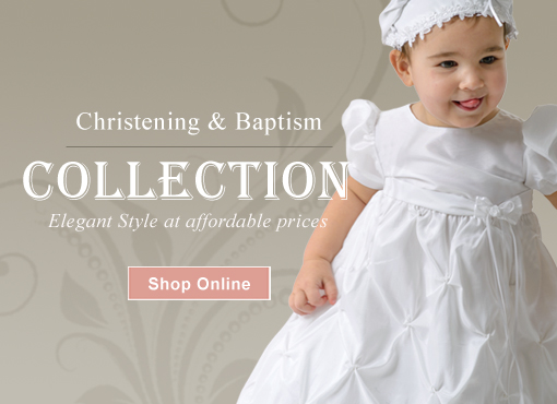 1e4af2604 How to choose a Christening outfit. Your baby's Baptism ...