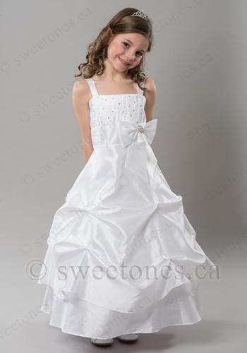 434365a8548 Glamorous taffeta pick-up dress